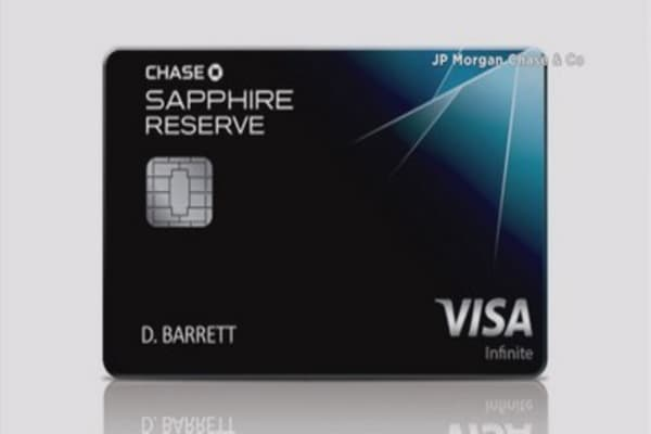 Chase plans to slash Sapphire Reserve card's bonus