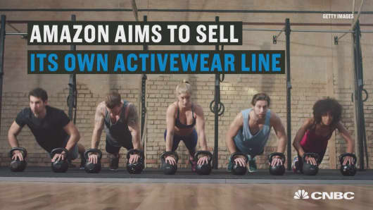 Amazon working out its own activewear line