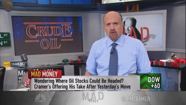 Cramer says Trump just took the oil industry to a new level — before he's even sworn in!