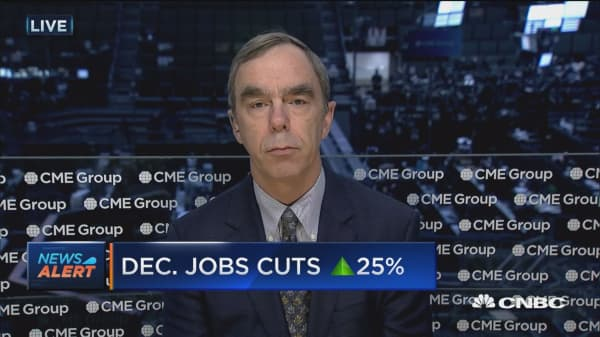 December job cuts up 25%: Challenger