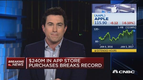 Apple app developers earned $20B in 2016