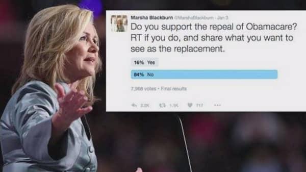 Republican congresswoman's Twitter poll backfires