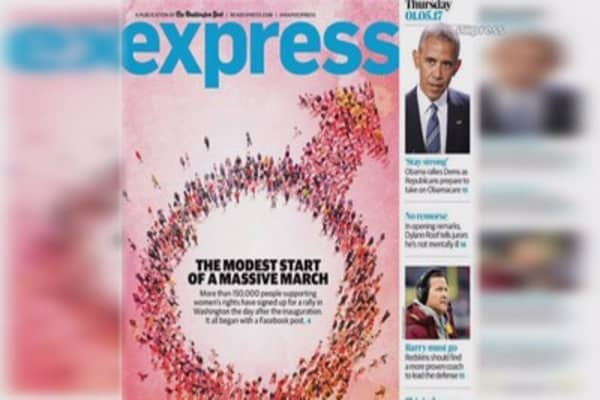 Washington Post Express makes big mistake on cover story
