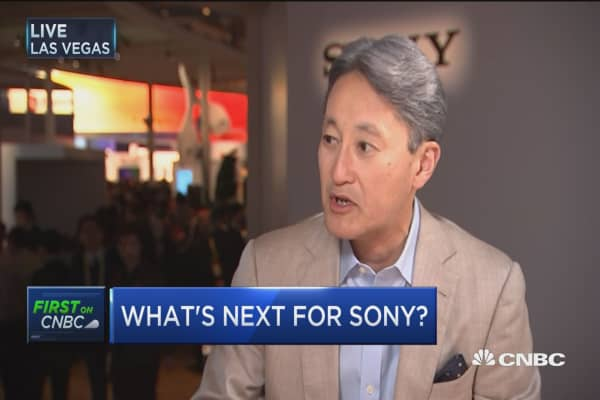 Sony CEO: We put in the latest & greatest sensors in digital cameras