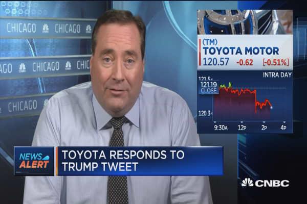 Toyota: Mexican plant won't cut US jobs -RTRS