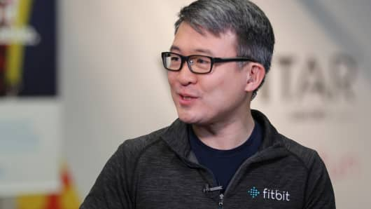 James Park, CEO of Fitbit.