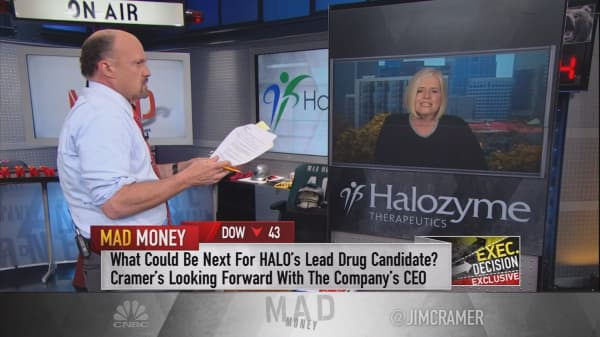 Shares of Halozyme spike 17% after positive results for pancreatic cancer drug