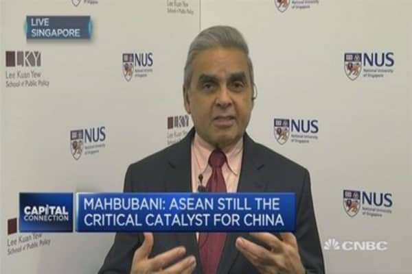 A strong ASEAN is in China's interest: Mahbubani