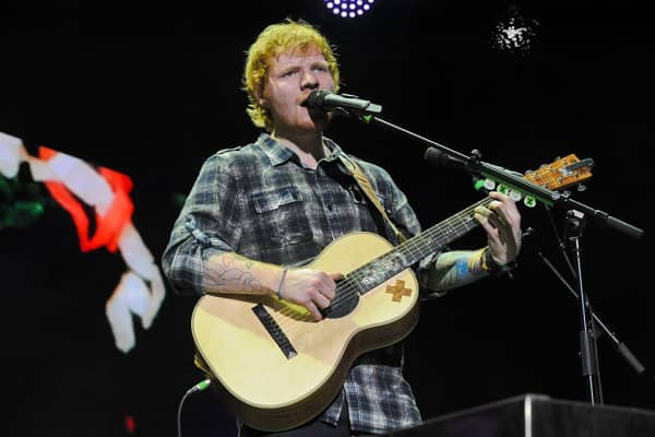 Ed Sheeran performs in concert during the opening night of the North American leg of his 'Multiply World Tour' at The Frank Erwin Center on May 6, 2015 in Austin, Texas.