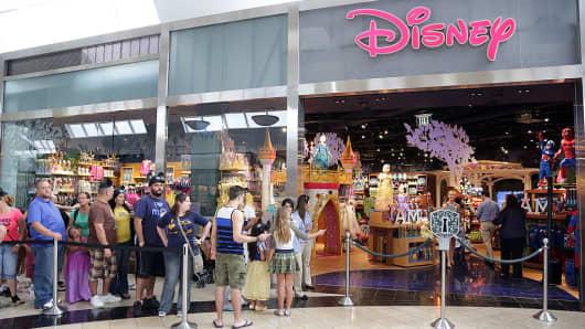 Disney Store at Miami International Mall in Miami, Florida.