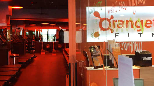 Studio at Orangetheory's Washington, D.C., location.