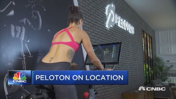 Peloton cycles to new locations, breaking out of the home model
