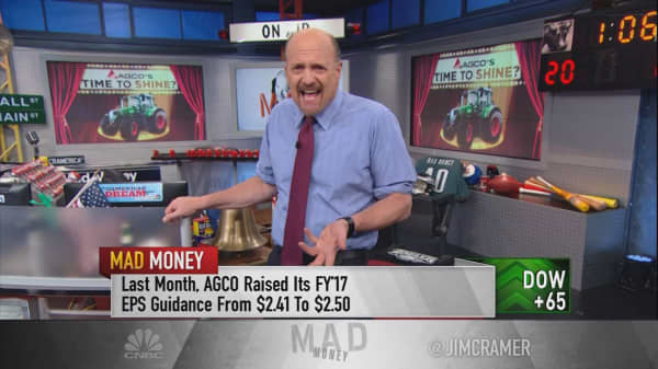 Cramer says the secret engine behind the Trump rally is this off-the-radar agriculture stock