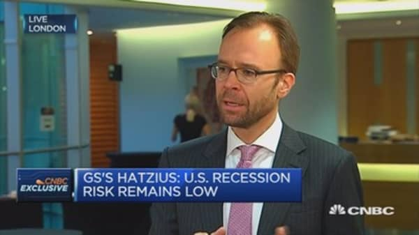 There are better financial conditions in the US: Goldman economist