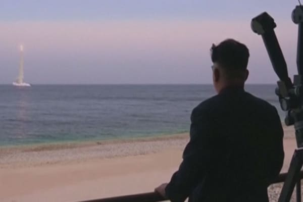 Carter says US may shoot down North Korean missile test