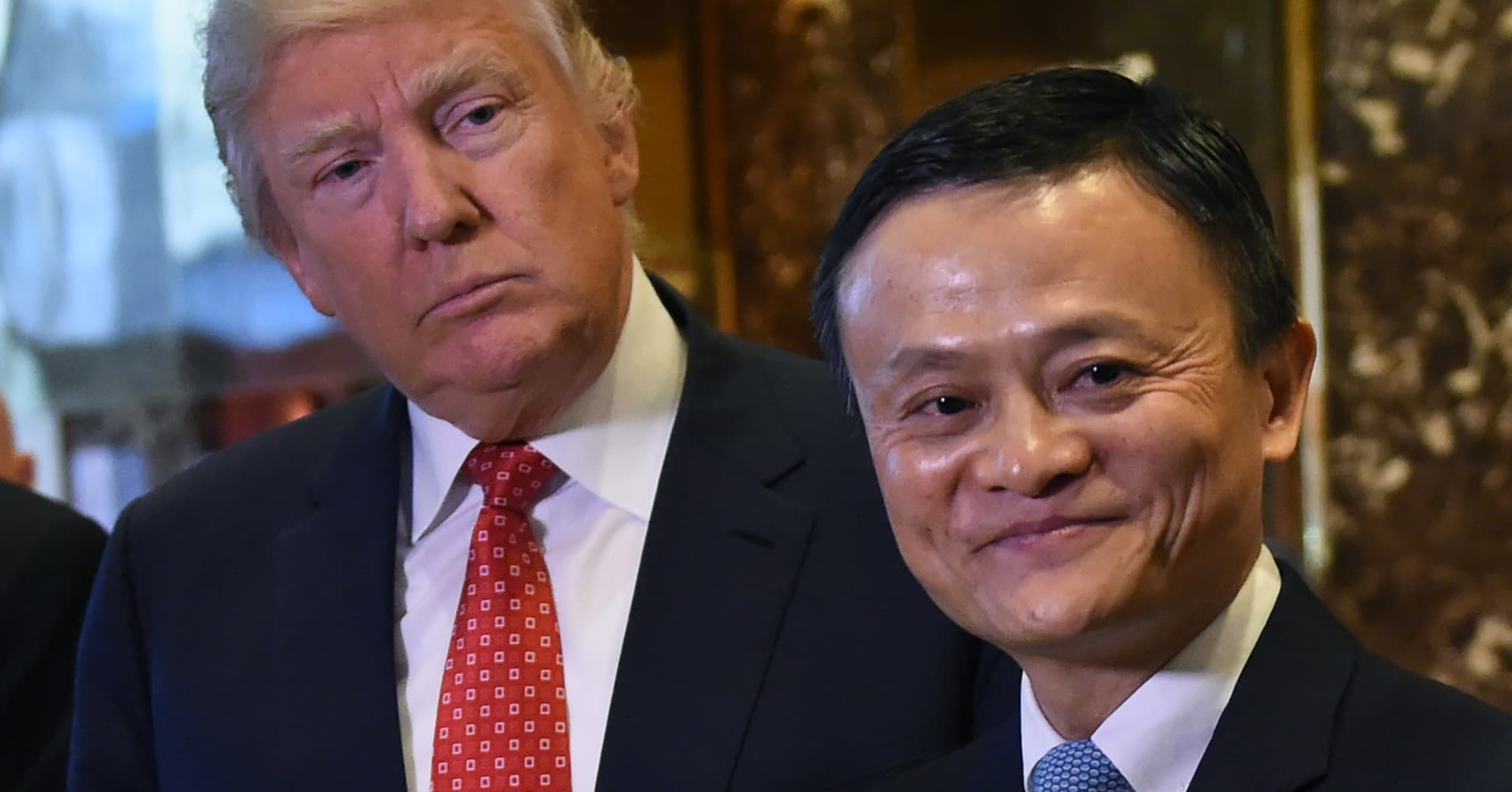 Image result for jack ma and donald trump