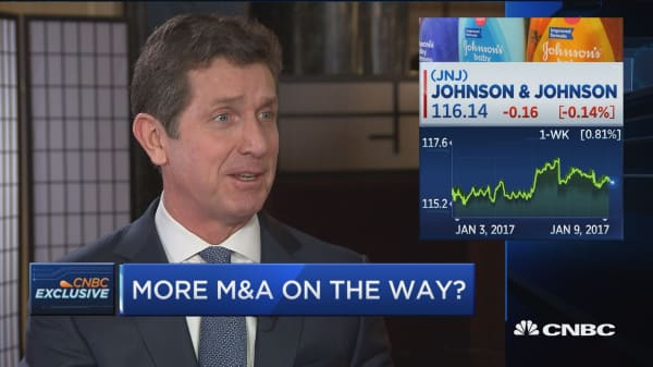 J&J CEO: Pleased with performance, but far from satisfied