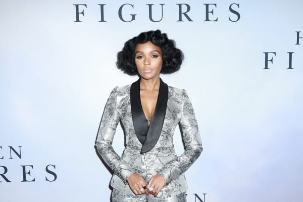 "Janelle Monae at the ""Hidden Figures"" New York Special Screening at SVA Theater on December 10, 2016 in New York City."