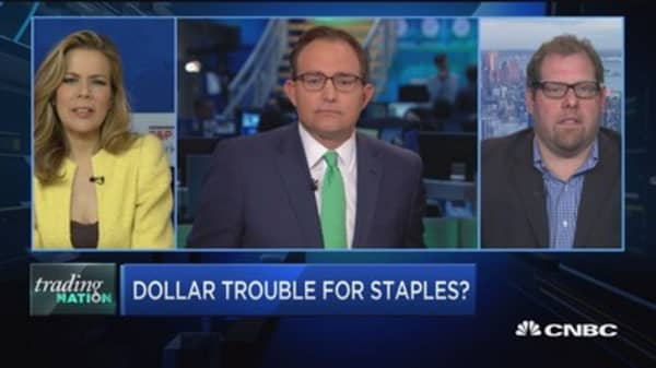 Trading Nation: Dollar trouble for staples?