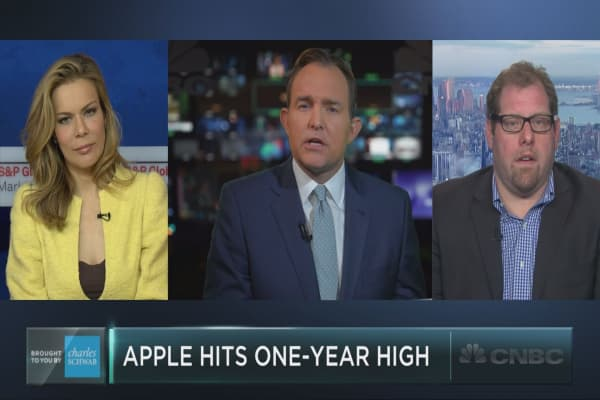 Apple hits one-year high – here's why it could keep rising