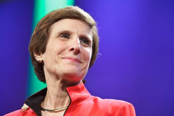 Irene Rosenfeld, chairwoman and CEO of Mondelēz International