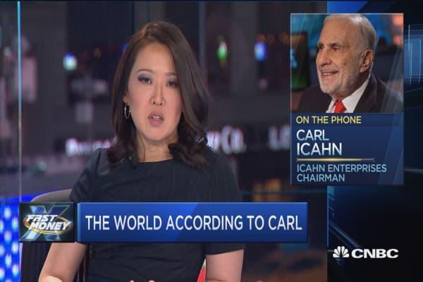 Icahn: We made a huge profit off Apple