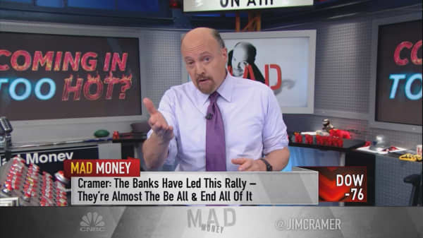 Why Jim Cramer is hoping for a sell-off in the market this week