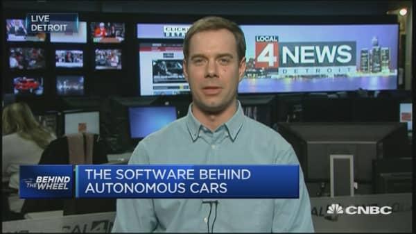 The nervous system of autonomous cars