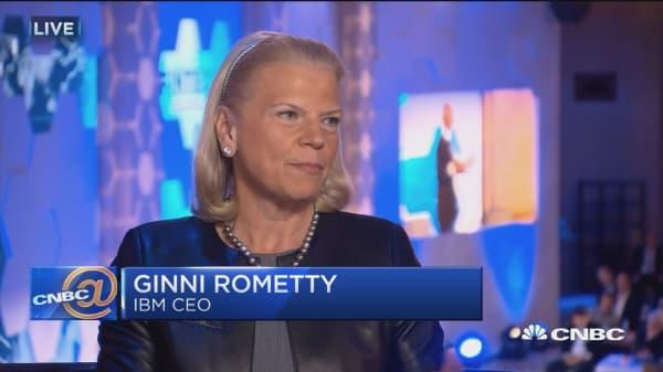 IBM CEO talks 'new collar' jobs in tech