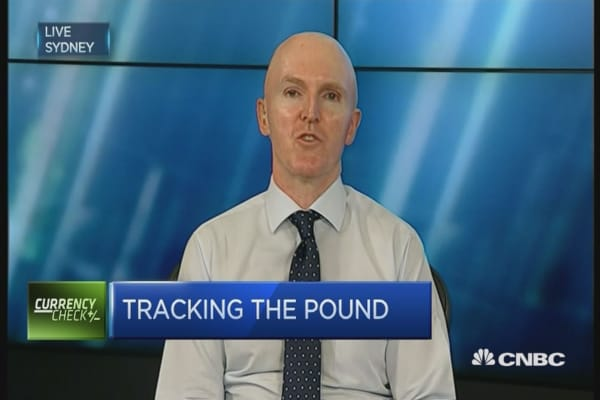 Sterling to remain under pressure: Strategist