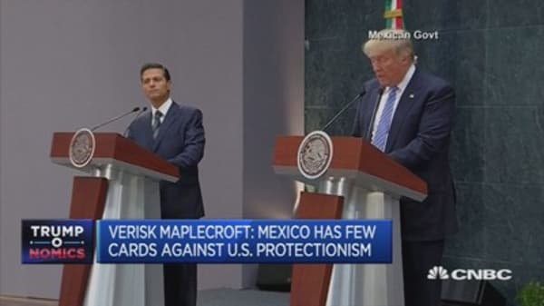 Trump triggers uncertainty for Mexico: Verisk Maplecroft