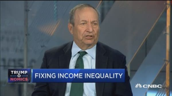 Larry Summers: Fixing income inequality
