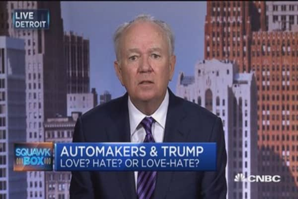 Automakers eye Trump tariff tweets: CEO