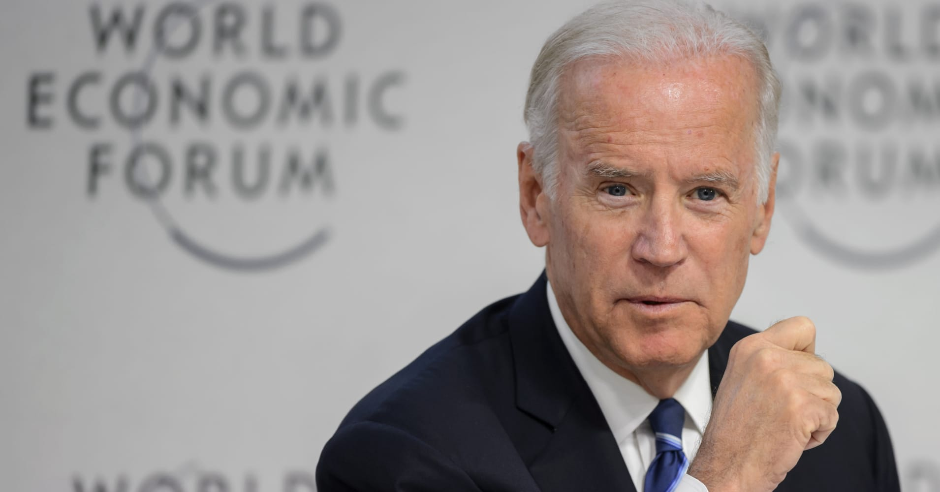 Polls show Joe Biden entering the Democratic primary with a significant lead