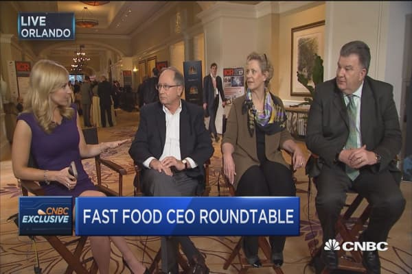 Fast food CEO roundtable