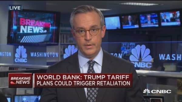 World Bank: Trump tariff plans could trigger retaliation