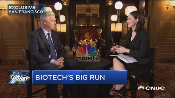 Gilead CEO: M&A is top of mind for us this year