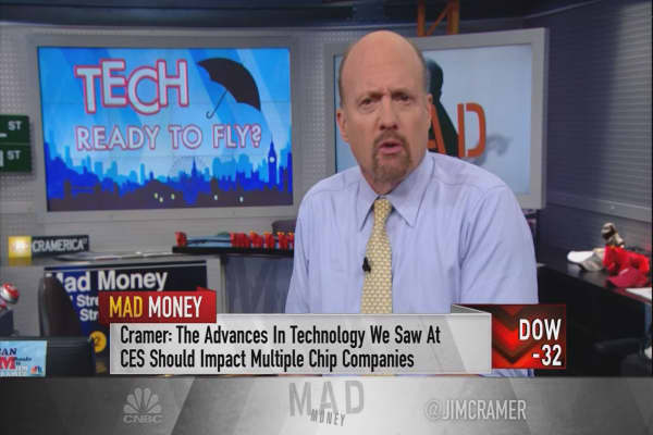 If you're obsessed with Nvidia, Cramer says to watch these 5 stocks, too