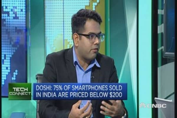 India's game of phones