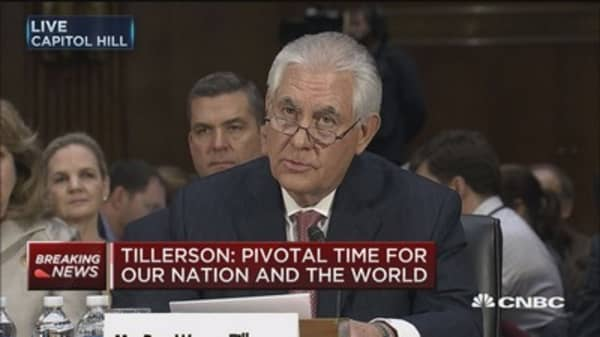 Tillerson: We need to honest about radical Islam