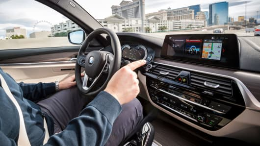 BMW 5 Series Connected Mobility