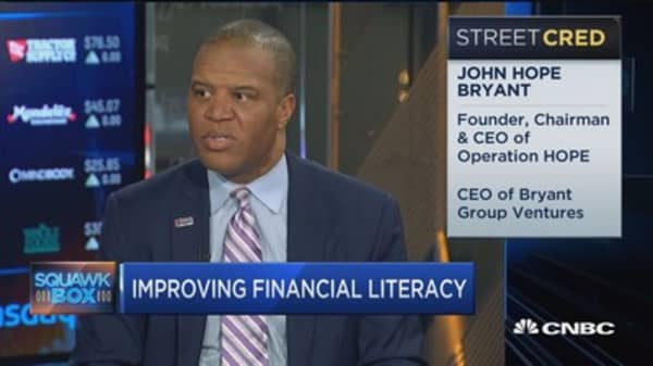 'Operation Hope': On the path to financial literacy
