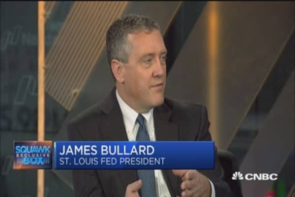 Fed's Bullard: I never heard of a border adjustment tax until after the election