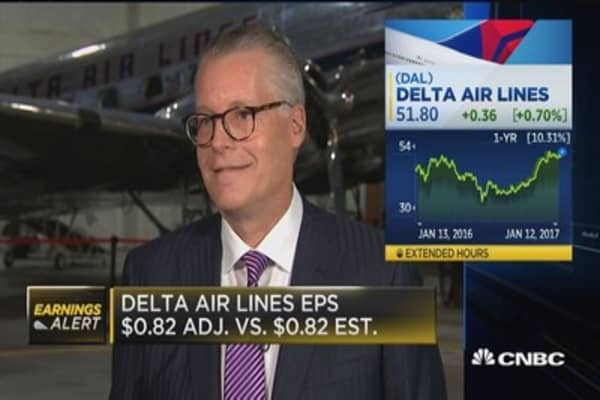 Delta CEO: Consumer confidence gets post-election boost