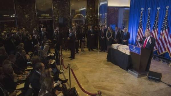 Donald Trump's take on Russia