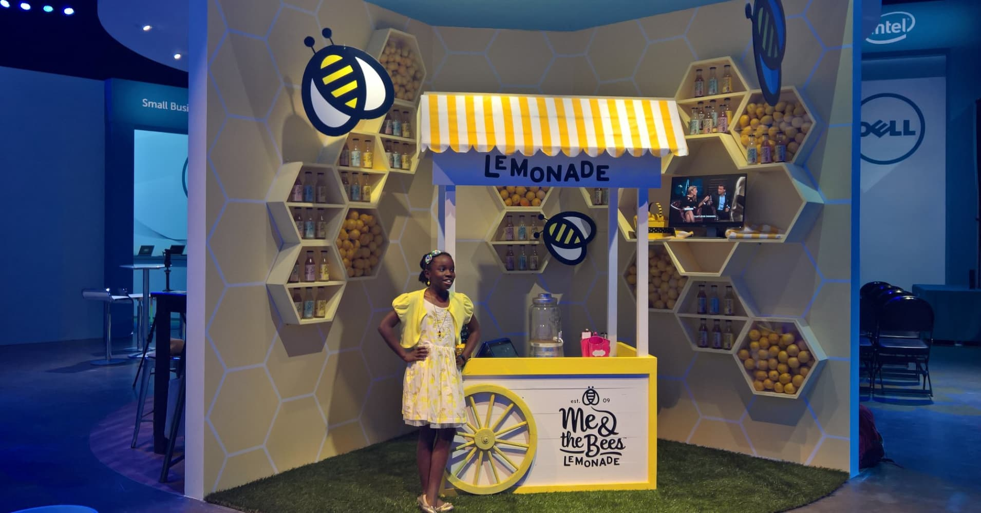 Mikaila Ulmer is the founder and CEO of Me & the Bees Lemonade