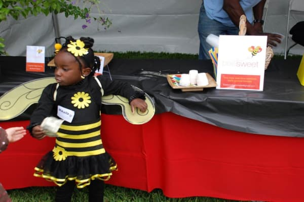 Mikaila Ulmer, the founder and CEO of Me & the Bees Lemonade, in the very early days of running the business.