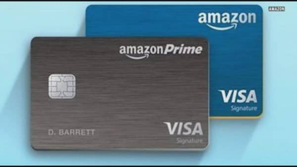 Amazon unveils Prime credit card with 5% back