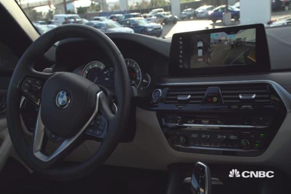 BMW's series 5 prototype
