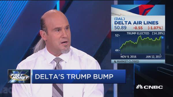 Will Delta's Trump bump continue?